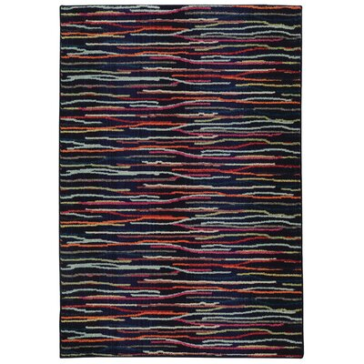 Expressions Abstract Area Rug Rug Size: 99 x 122