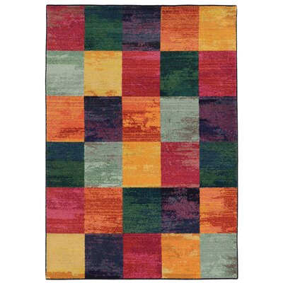 Expressions Geometric Area Rug Rug Size: Rectangle 99 x 122