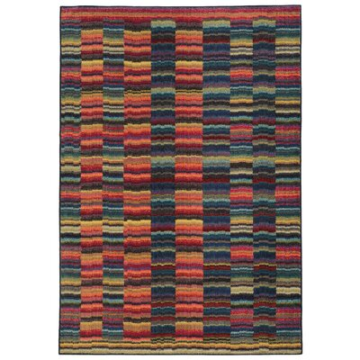 Expressions Abstract Area Rug Rug Size: Rectangle 53 x 76