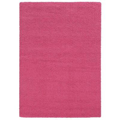 Focus Pink Shag Area Rug Rug Size: 710 x 1010