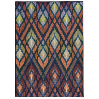 Prismatic Geometric Area Rug Rug Size: Rectangle 35 x 55