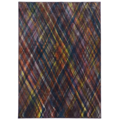 Prismatic Multi Geometric Area Rug Rug Size: Rectangle 98 x 1210