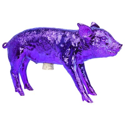 Reality Bank In The Form Of A Pig Piggy Bank Finish: Orchid Chrome