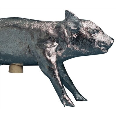 Reality Bank In The Form Of A Pig Piggy Bank Finish: Chrome