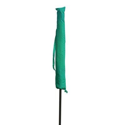 Umbrella Cover Size: 57.87 H x 10.6 W x 7.87 D, Color: Green