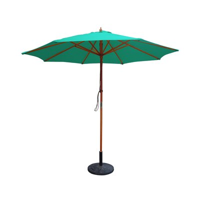 9 Market Umbrella Fabric: Green