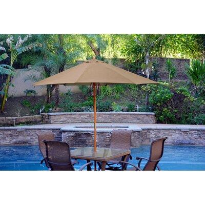 9 Market Umbrella Color: Brown