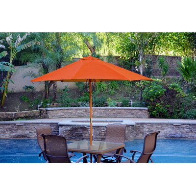 9 Market Umbrella Color: Orange