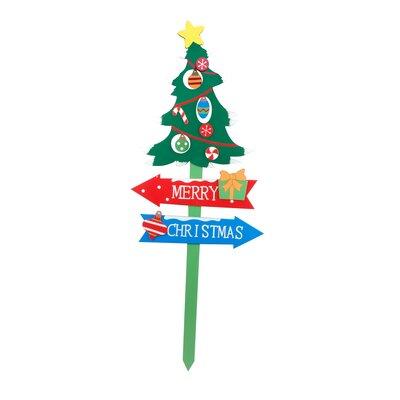Christmas Tree Garden Stake CHD-OD038
