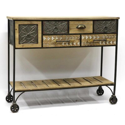 Arrowhead Console Table