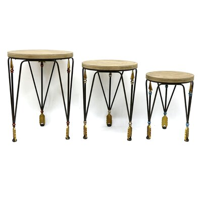 Yahud 3 Piece Nesting Tables