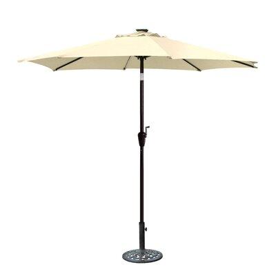 8.5 Aluminum Market Umbrella Color: Tan