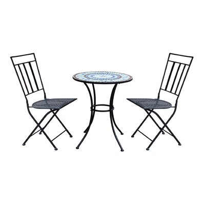 Gibbs Patio 3 Piece Bistro Set