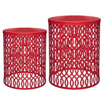 Totowa 2 Piece End Table Set