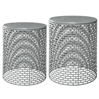 Merrionette 2 Piece End Table Set