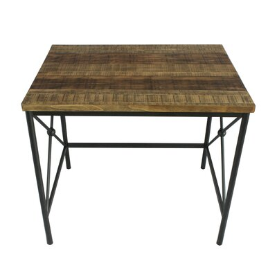 Omarion Rectangle Wood and Metal 3 Piece Nesting Tables