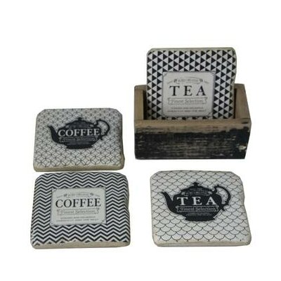 Cup 5 Piece Coaster Set ONAW3758 43177507