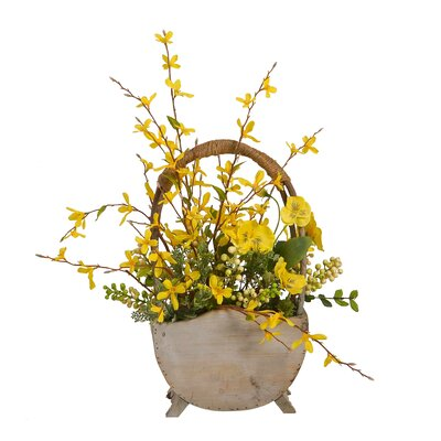 Yellow Floral Arrangement in Pot AGTG5357 43614957
