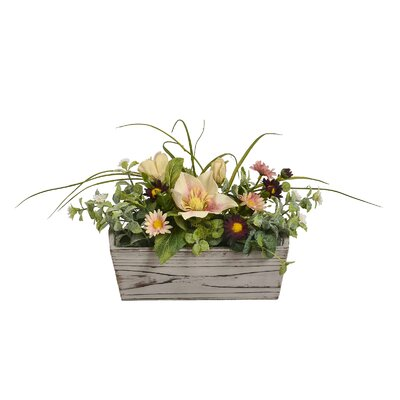 Silk Floral Arrangement in Pot AGTG5362 43614962