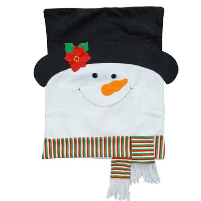 Snowman Chair Back Covers