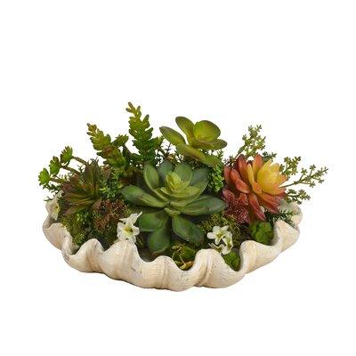 Green Floral Arrangement in Pot BGRS3564 43615058