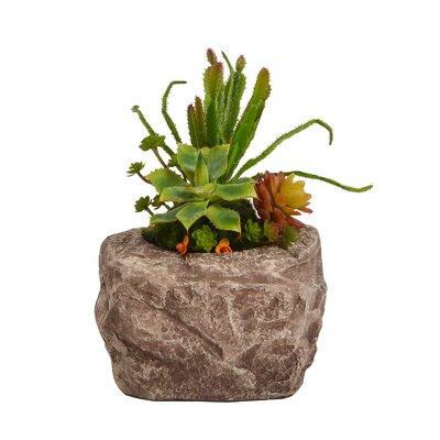 Floral Arrangement in Brown Pot BGRS3566 43615060