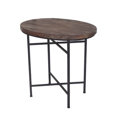 Downard Wooden End Table