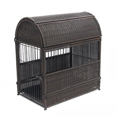 Dog House Color: Espresso, Size: Large  (35.5 H x 20.25 W x33.25 D)