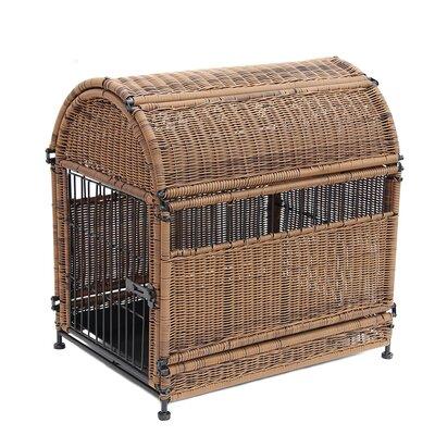 Dog House Color: Honey, Size: Medium (35.25 H x 18.25 W x 28.5 D)
