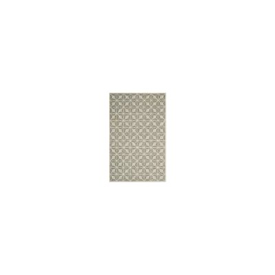 Dark Grey / Taupe Geometric Rug Rug Size: Rectangle 5 x 8