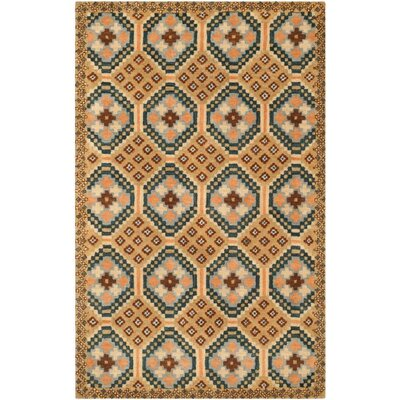 Camel Area Rug Rug Size: Rectangle 5 x 8