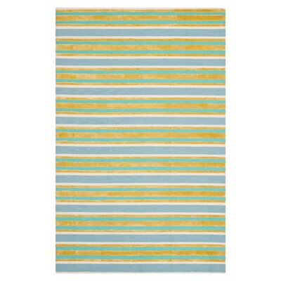 Striped Area Rug Rug Size: Rectangle 8 x 10