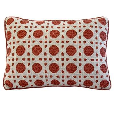 Folk Art Cotton Boudoir/Breakfast Pillow