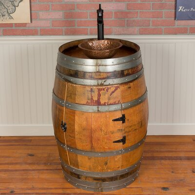 28 Single Wine Barrel Vanity Set