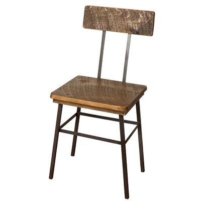 Industrial Solid Wood Dining Chair