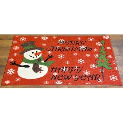 Snowman Christmas Doormat