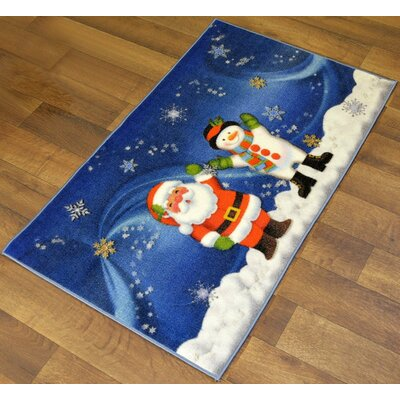 North Pole Joy in Holidays Christmas Mat