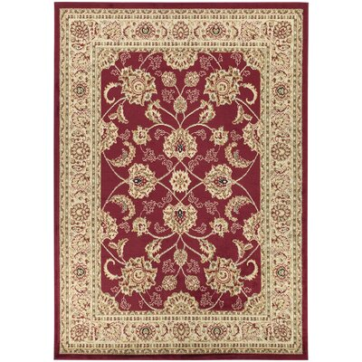 Royal Red Area Rug Rug Size: 710 x 910