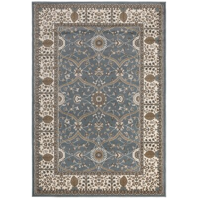 Regal Traditional European Blue Area Rug Rug Size: 710 x 106