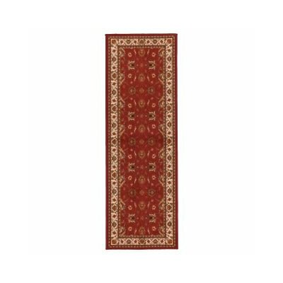 Prestige Red Area Rug Rug Size: Runner 18 x 411