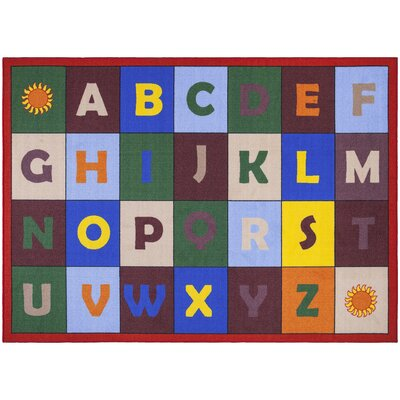 Childrens Educational Area Rug Rug Size: 5 x 66