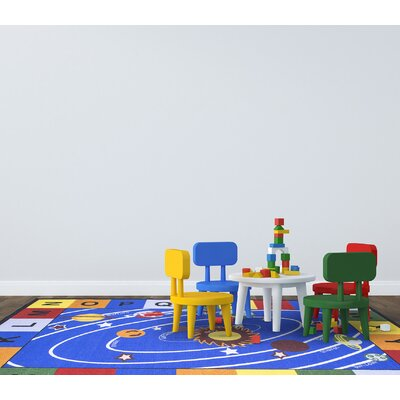 Childrens Educational Area Rug Rug Size: Rectangle 82 x 910