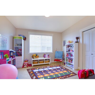 Childrens Educational Area Rug Rug Size: 33 x 5