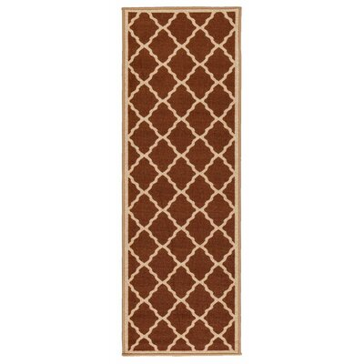 Prestige Brown Area Rug Rug Size: Runner 18 x 411
