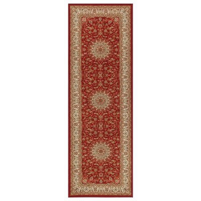 Prestige Red Area Rug Rug Size: Runner 23 x 6
