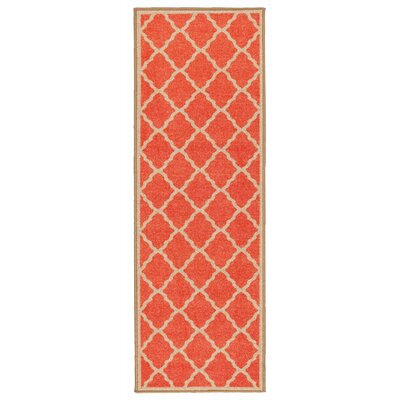 Prestige Orange Area Rug Rug Size: Runner 18 x 411