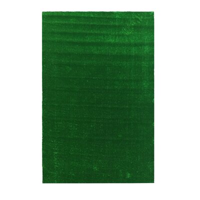 Bundine Solid Grass Design Green Indoor/Outdoor Area Rug Rug Size: Rectangle 311 x 66