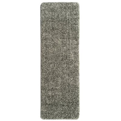Luxury Gray Area Rug Rug Size: Runner 2 x 6