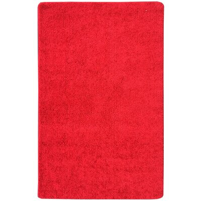 Luxury Red Area Rug Rug Size: 18 x 411