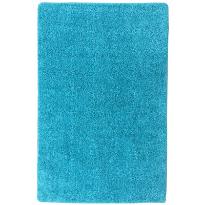 Luxury Blue Area Rug Rug Size: 18 x 411